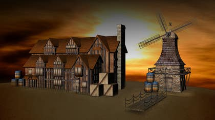 #5 for Graphic designer/artist needed for drawing 16th century architecture/enviroment by clementalwin