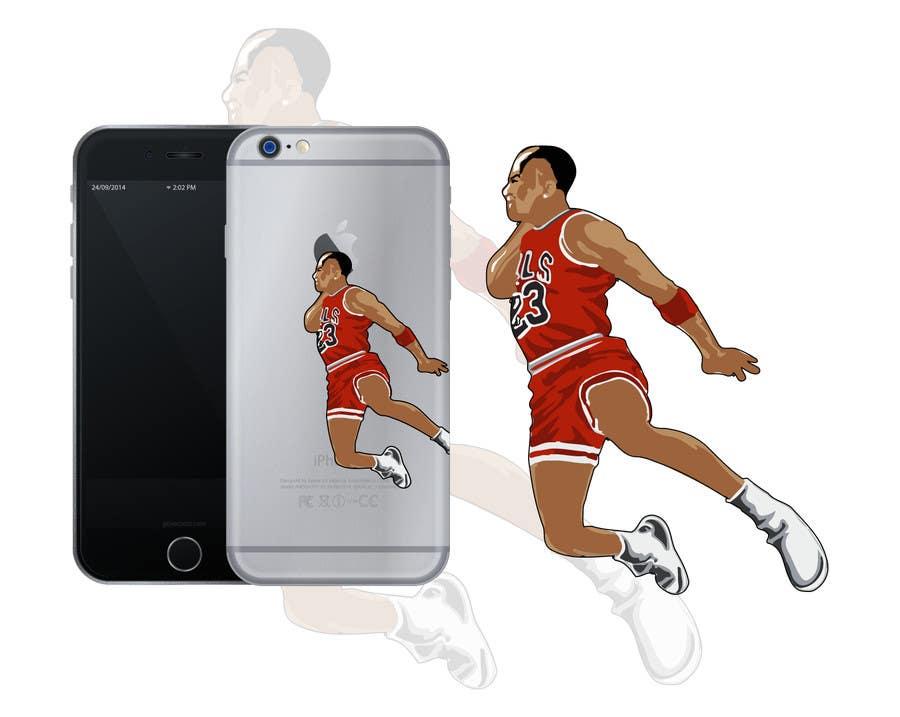 170ac7dcfe75 Entry  5 by seebjvd for NBA Vector Cartoon Illustration - Michael ...