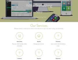 Nro 8 kilpailuun New Website Design käyttäjältä afrahse