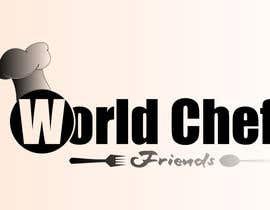 Nro 27 kilpailuun Design a Logo world chef friends käyttäjältä abdoubestmood