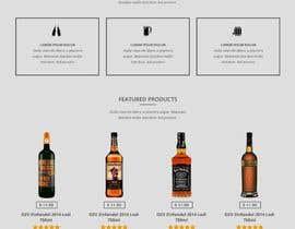 superhubo03 tarafından Design a Website Mockup For A Liquor Store için no 25