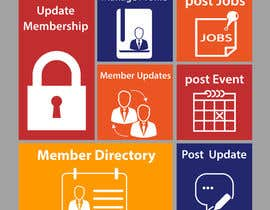 Nro 11 kilpailuun Design Membership Dashboard with Single Image käyttäjältä heshamelerean
