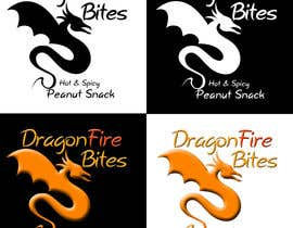 #4 for Design a Logo for Dragon Fire Bites (Spicy Snack) af Wosiu