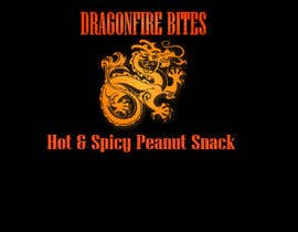 #2 for Design a Logo for Dragon Fire Bites (Spicy Snack) af ilekralev