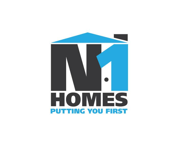 Proposition n°44 du concours Design a Logo for N1Homes (Number1Homes)