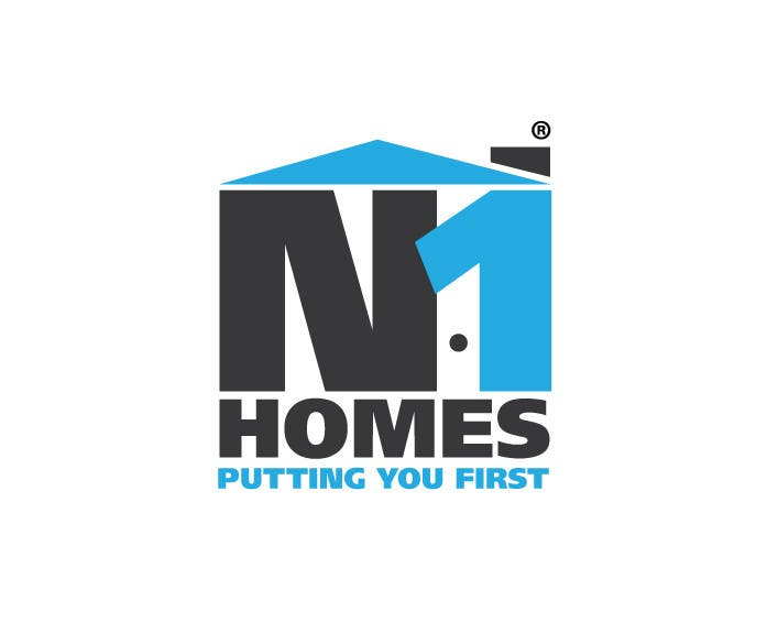 Proposition n°62 du concours Design a Logo for N1Homes (Number1Homes)