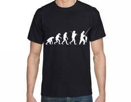 "Sharjeel07 tarafından Design an ""Evolution of Man to Carp Fisherman"" T-Shirt için no 3"
