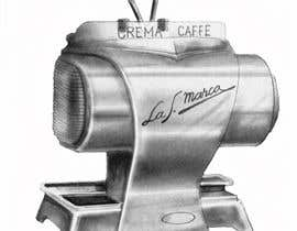 nº 30 pour Illustrate a vintage espresso machine.. par studiobacs
