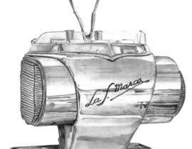 #32 for Illustrate a vintage espresso machine.. af squalljade