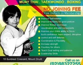 #32 for Design a Flyer for Kids Martial Arts Classes af mjuliakbar