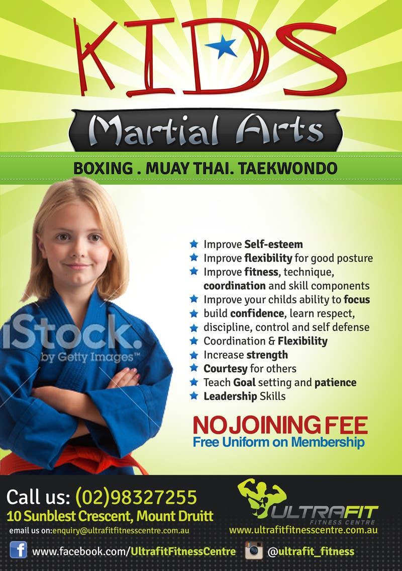 Inscrição nº                                         21                                      do Concurso para                                         Design a Flyer for Kids Martial Arts Classes