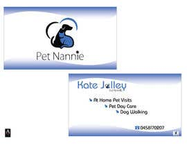 TheDesignA tarafından Design some Business Cards for Pet Nannie için no 31