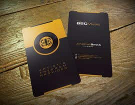 #84 for Business Card Design for The BBC Music by Zveki