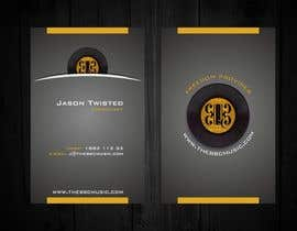 #68 para Business Card Design for The BBC Music por F5DesignStudio