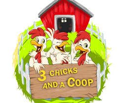 #50 cho NEED SPUNKY CARTOON-LIKE CHICKENS FOR LOGO DESIGN bởi momotaros