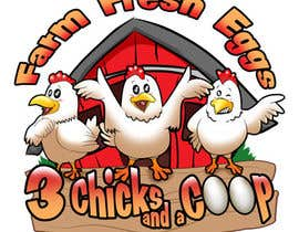 #118 cho NEED SPUNKY CARTOON-LIKE CHICKENS FOR LOGO DESIGN bởi Othello1