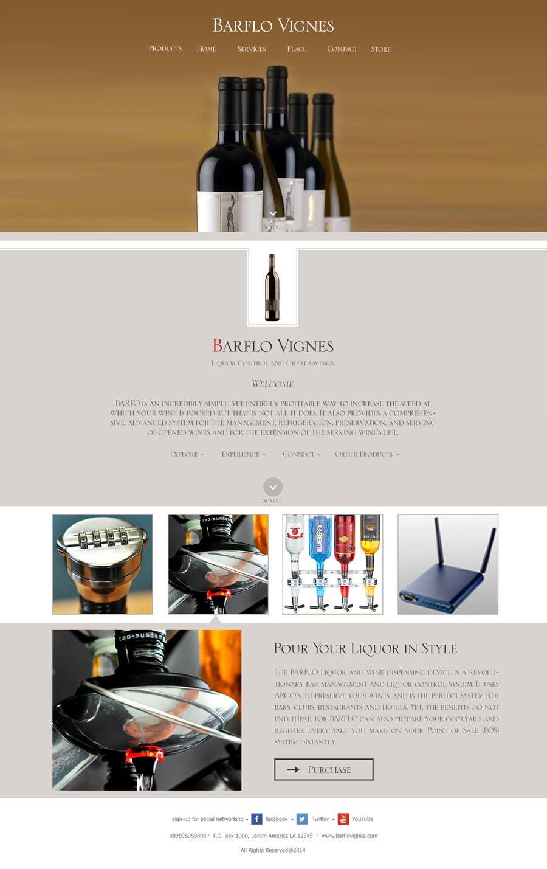 #32 for Design a Website Mockup for full website by manishb1