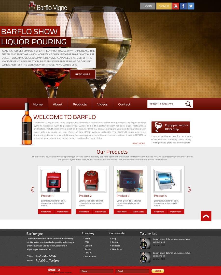 #33 for Design a Website Mockup for full website by manishb1