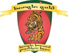 #25 for Bangla gold beer by anshuljasani