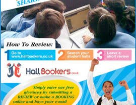 #73 for Design a Flyer/Poster for Hallbookers by amcgabeykoon