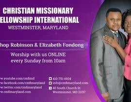 meenastudio tarafından Church Livestream flyer için no 22