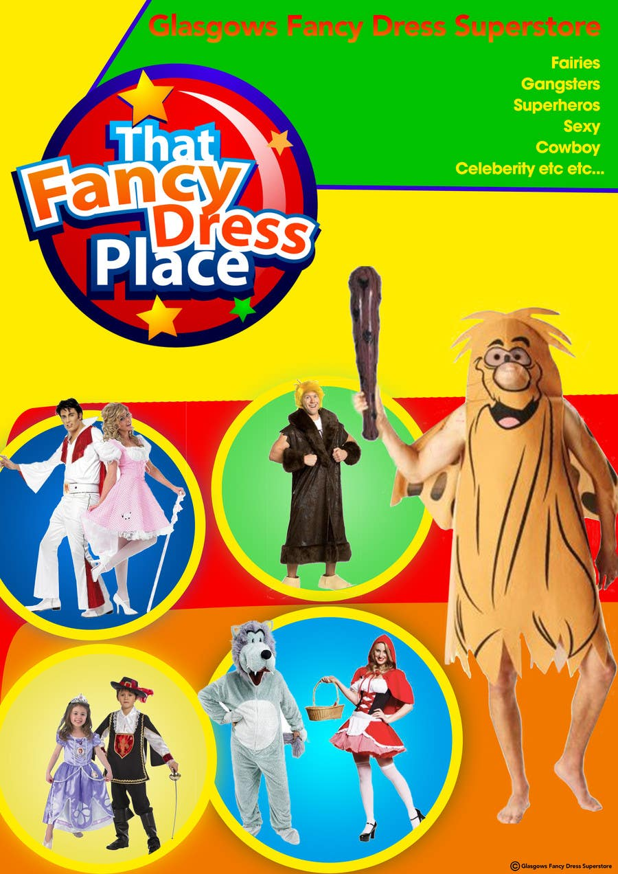 Proposition n°51 du concours Design a Flyer for Fancy Dress Business