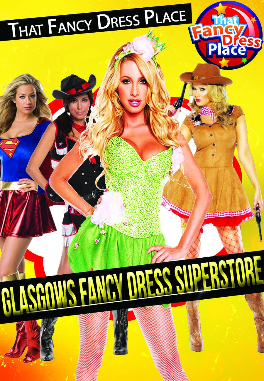Proposition n°56 du concours Design a Flyer for Fancy Dress Business