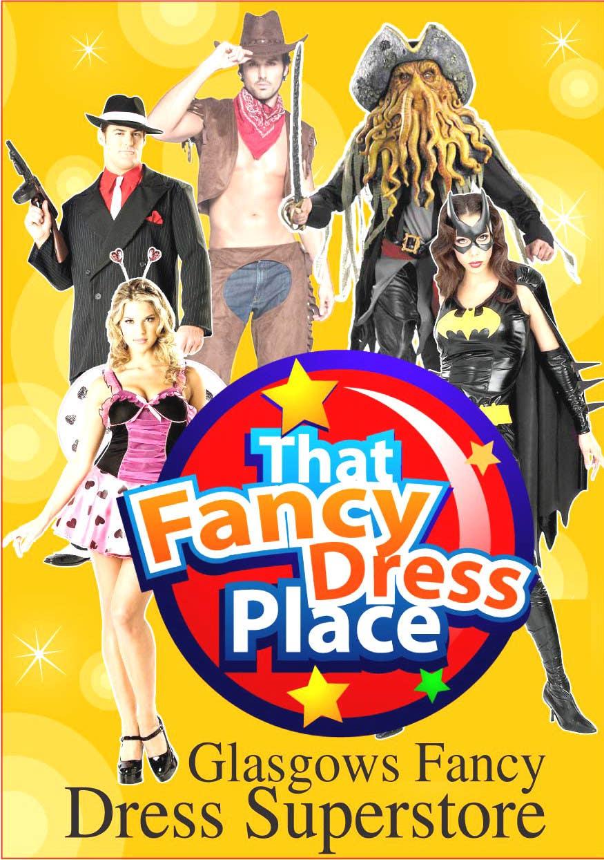 Proposition n°57 du concours Design a Flyer for Fancy Dress Business