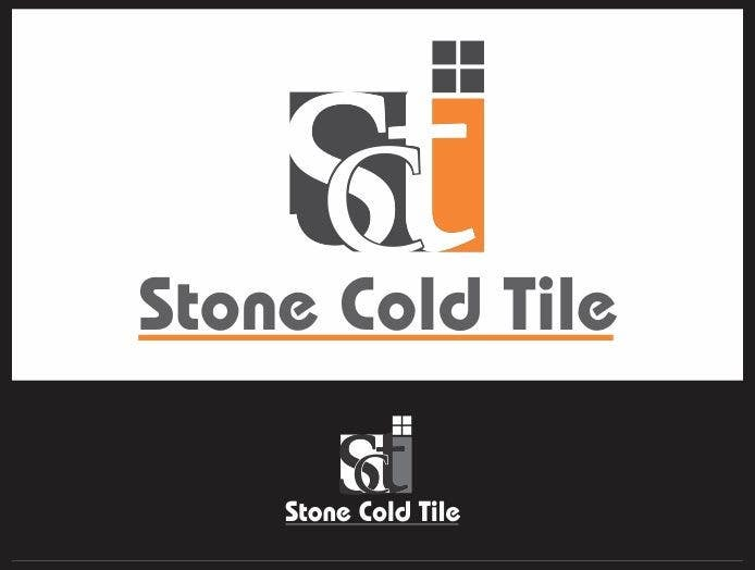 #90 for Design a Logo for Stone Cold Tile by aryainfo12