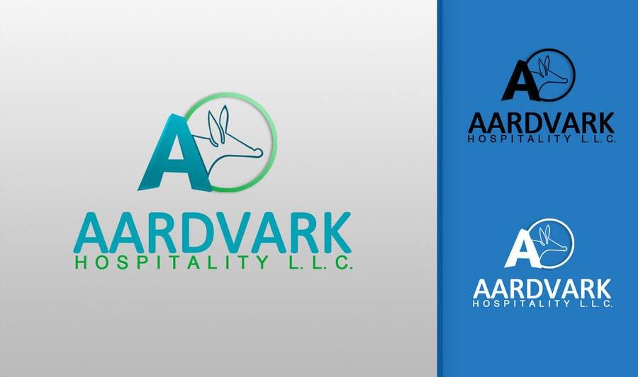 Konkurrenceindlæg #40 for Logo Design for Aardvark Hospitality L.L.C.