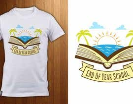 Nro 14 kilpailuun T-shirt design for end of year school käyttäjältä ShadaoPartners