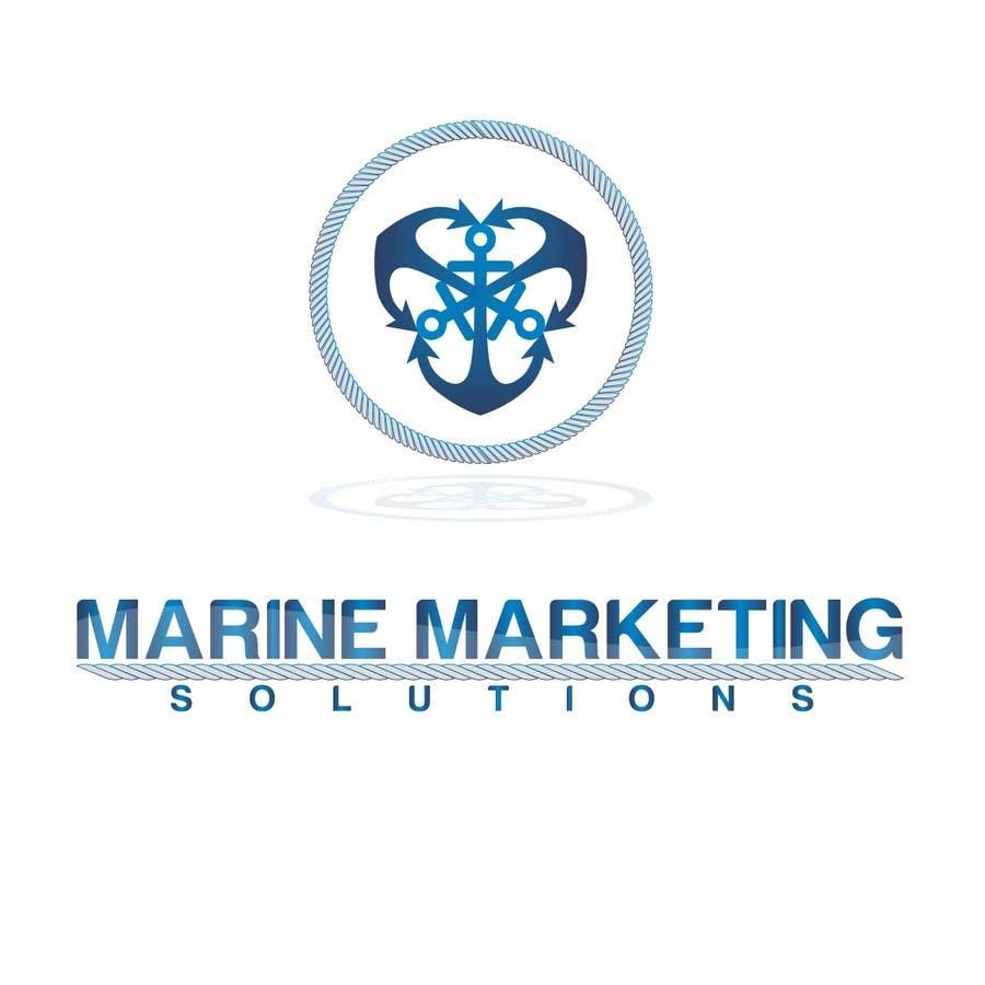 Kilpailutyö #77 kilpailussa Design a Logo for Marine Marketing Company