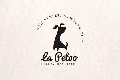 #55 for LOGO: vintage italian style: luxury doggy hotel by vishnuremesh