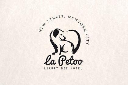 #63 for LOGO: vintage italian style: luxury doggy hotel by vishnuremesh