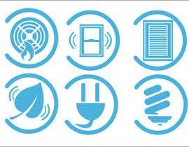 Nro 5 kilpailuun Design some Icons käyttäjältä anthonymendoza91