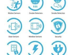 Nro 9 kilpailuun Design some Icons käyttäjältä pbevilacqua