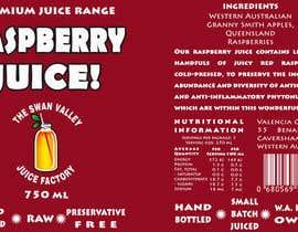 nº 65 pour Design a Label for Juice Bottle par SaranyaKrish