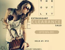 #30 untuk Banner Ad Design for The Outlet Fashion Company oleh eksart
