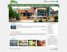 #9 for Design a Website home page and our people page Mockup by infostarvision