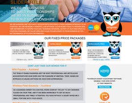 #34 for Design a Website home page and our people page Mockup by IllusionG