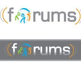 #36 สำหรับ Logo Design for Forums.com โดย cukisdesign