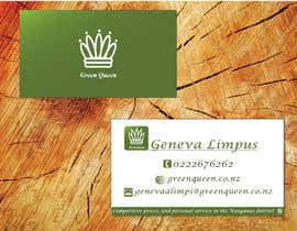#45 cho Design some Business Cards for Green Queen bởi TheDesignA