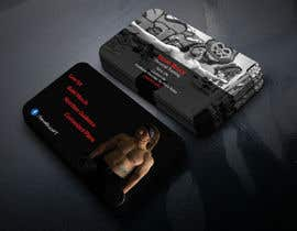 AhamedAntur tarafından Design a business card for personal training business için no 21