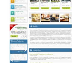 #9 for Design a Website Mockup for Estate Agent af patrickjjs