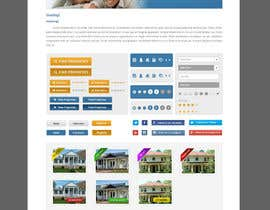 #28 for Design a Website Mockup for Estate Agent af patrickjjs
