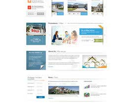 nº 18 pour Design a Website Mockup for Estate Agent par mbr2