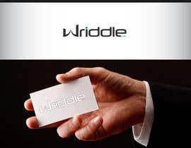 logoup tarafından Design a Logo for Wriddle.com için no 42