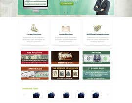 #26 para Redesign an Existing Website for a Currency Auction & Store por Pavithranmm