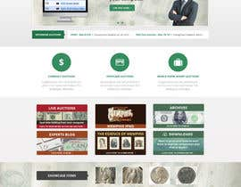 #43 para Redesign an Existing Website for a Currency Auction & Store por Pavithranmm
