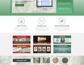 #50 para Redesign an Existing Website for a Currency Auction & Store por Pavithranmm
